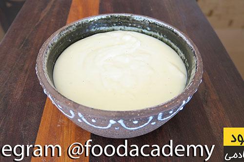 سس بشامل یا همان سس سفید برای لازانیا و پاستا در فودآکادمی آشپزی سالم با ایمان