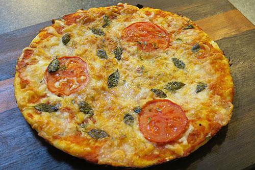 دستور پیتزا خانگی از صفر تا صد در فود آکادمی پیتزا مارگاریتا آشپزی با ایمان
