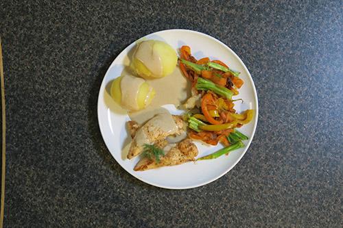 تهیه غذا با مرغ یک غذای سالم و سریع در فودآکادمی آشپزی با ایمان