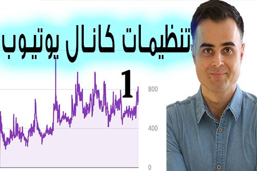 کار کردن با یوتیوب و تنظیمات آن در یوتیوب فارسی آکادمی ایمان